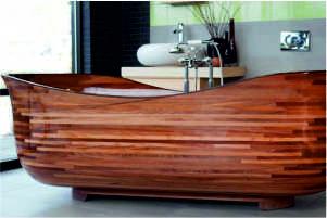 przedmioty z drewna egzotycznego