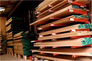 suchy magazyn na drewno