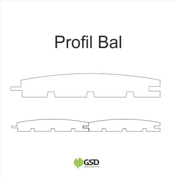 profil bal deska elewacyjna