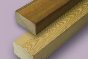 legary drewniane